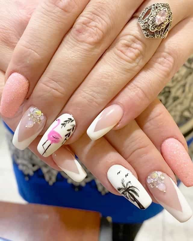Coffin Nails for Vacation