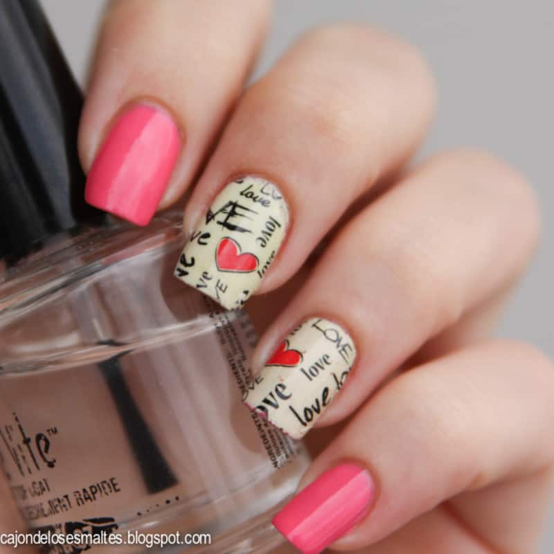 Nail art decals learn how to apply it like a pro naildesigncode shower your love through nail art decals transfer the nail design of the stickers into your nails as sticker nail art prinsesfo Choice Image