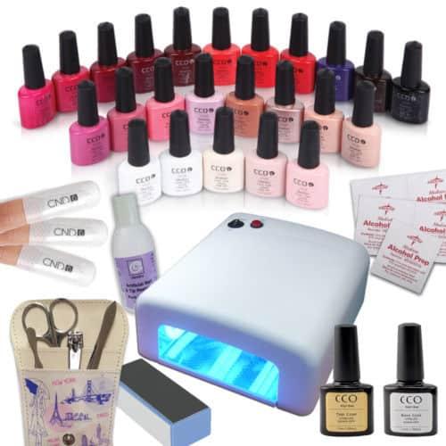 CND Shellac nail kit