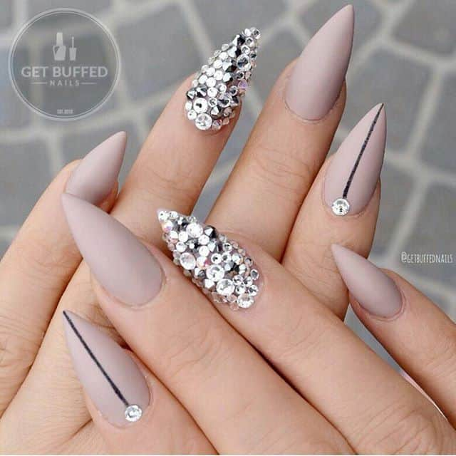 Diamond Stud nails