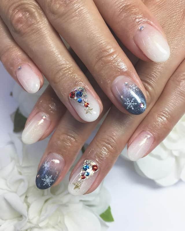 japanese nail art for winter