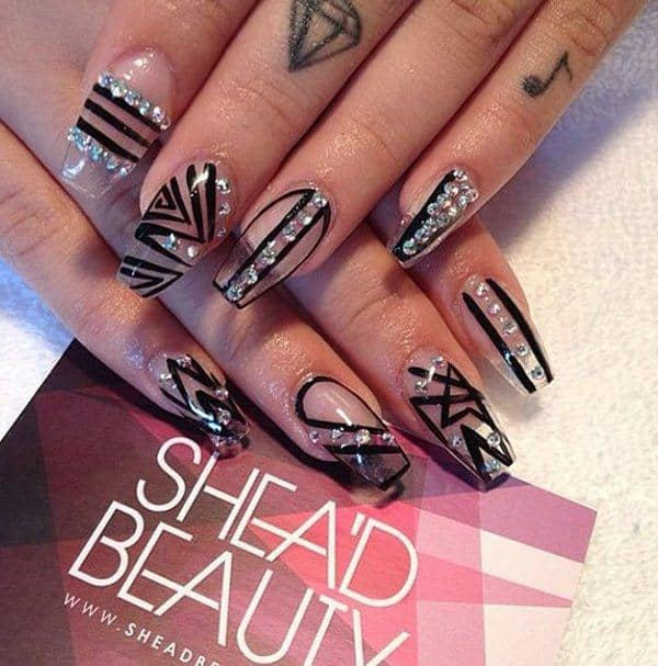 Negative spaces in Coffin nails
