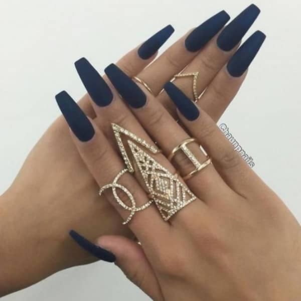125 Unavoidable Coffin Nail Designs A,List Swear By!