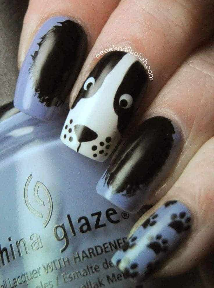 Panda Nail Designs: 21 Cutest Ideas for 2018 – NailDesignCode