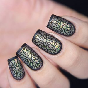Trendy Nail Stamping designs