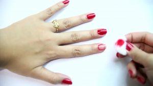 homemade nail polish remover