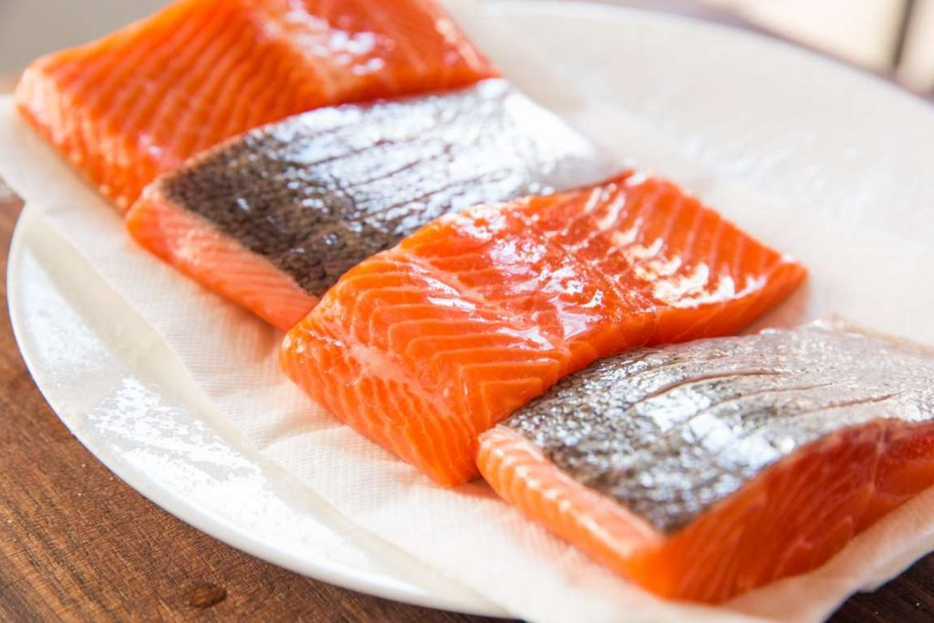 salmon for healthy nails
