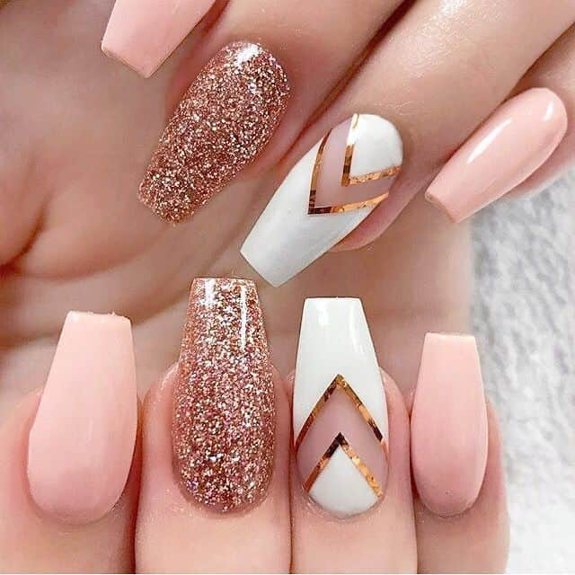 This Could Be One Of The Most Beautiful Baby Pink Nails If You Can Execute Design Rightly