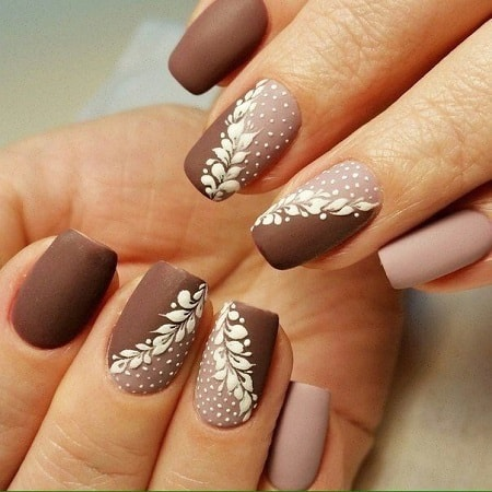 20 Blissful Brown Nail Designs For Upcoming Fall Season