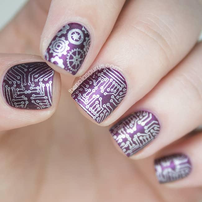 Circuit Board Nail Stamping