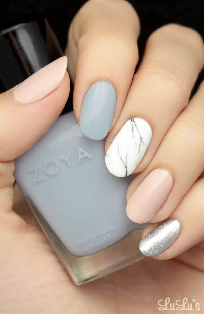 25 Pastel Nail Ideas So You Can Keep The Edge – NailDesignCode
