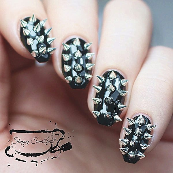 Nail art studs and spikes