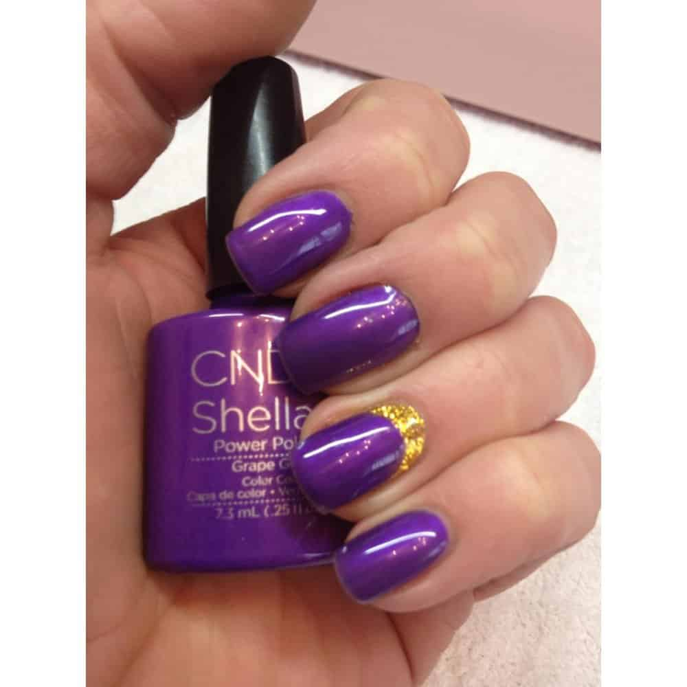 Grape Gum cnd shellac