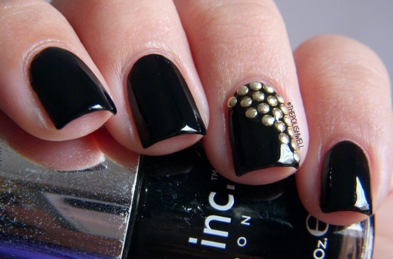 20 Stunning Studded Nails to Add Extra Glam
