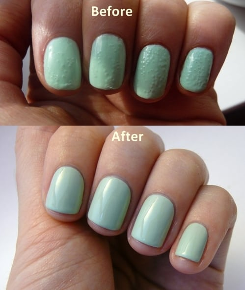 How Long To Let Nail Polish Dry Before Top Coat: How To Get Rid Of Bubbles In Nail Polish