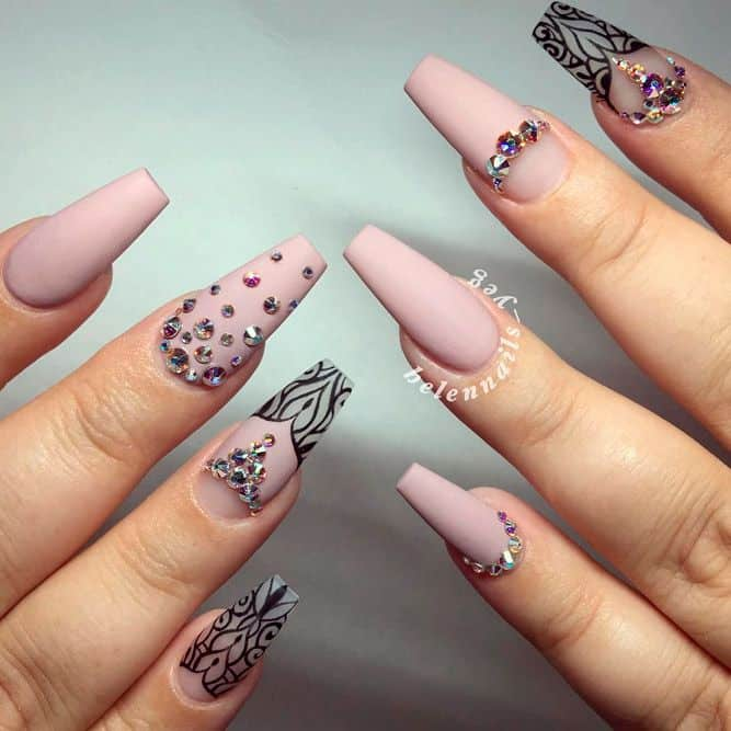 130 Unavoidable Coffin Nail Designs A-List Swear By!