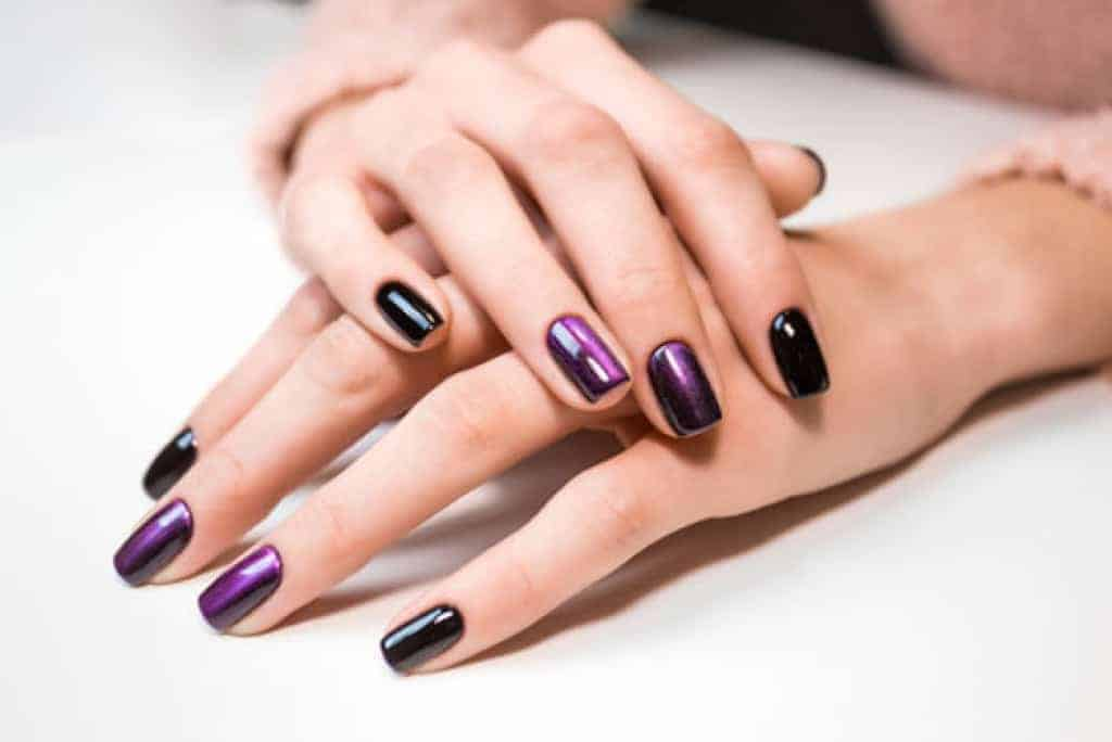how to get shellac off acrylic nails at home