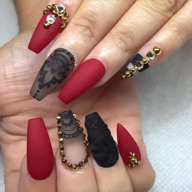 Anyone Will Become A Great Fan Of These Nails At The First Sight But You Have To Create Effects Rightly Get Impact Amazing Coffin