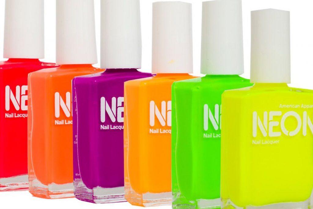 Neon Shades nail polish