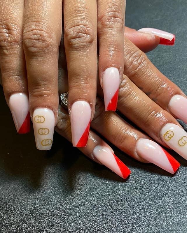 gucci stamping nail