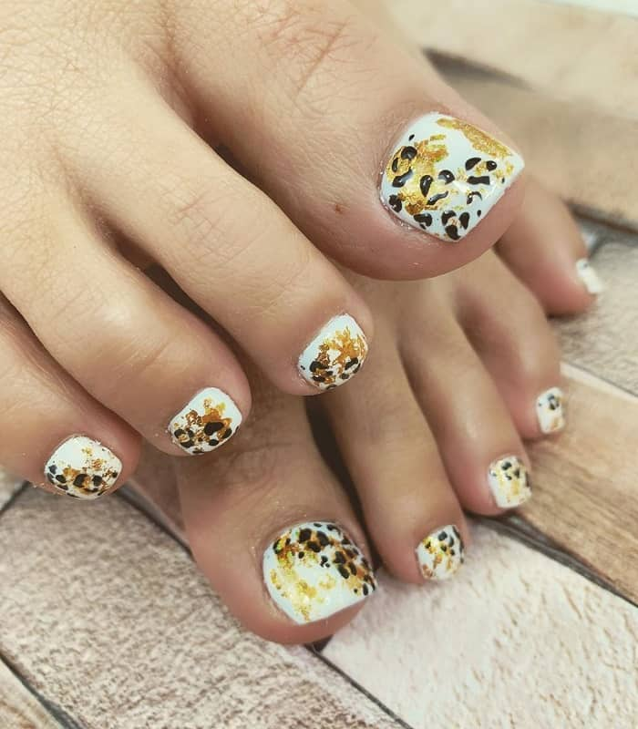 toe nail art for beginners