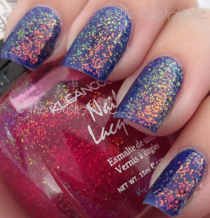 Chunky Holo Unicorn pee nails