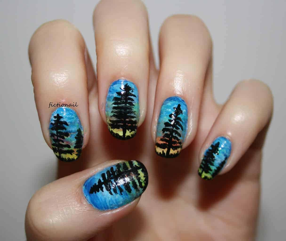 12 Sunset Nail Designs Look Cool Any Time Of The Day
