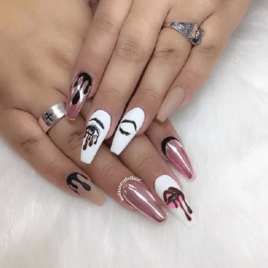 125 Unavoidable Coffin Nail Designs A-List Swear By!