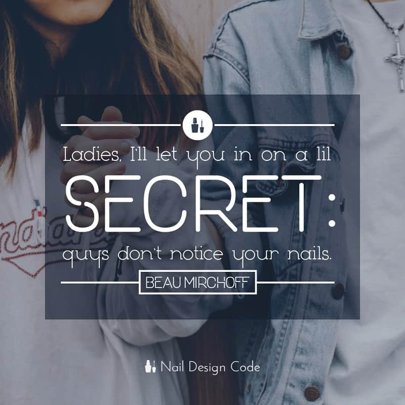 funny nail meme quote by naildesigncode