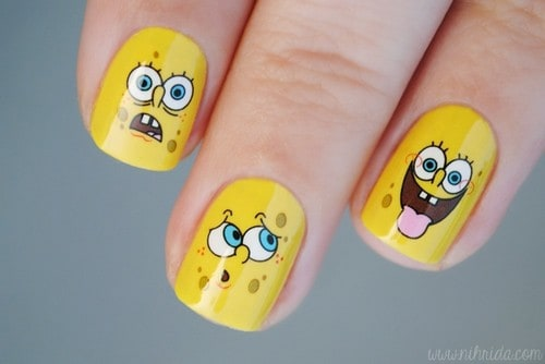 7 Spongebob Nail Designs for Your Inner Cartoon Fan