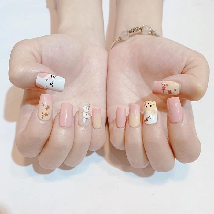 Summer Nail Design for Pale Skin Tone