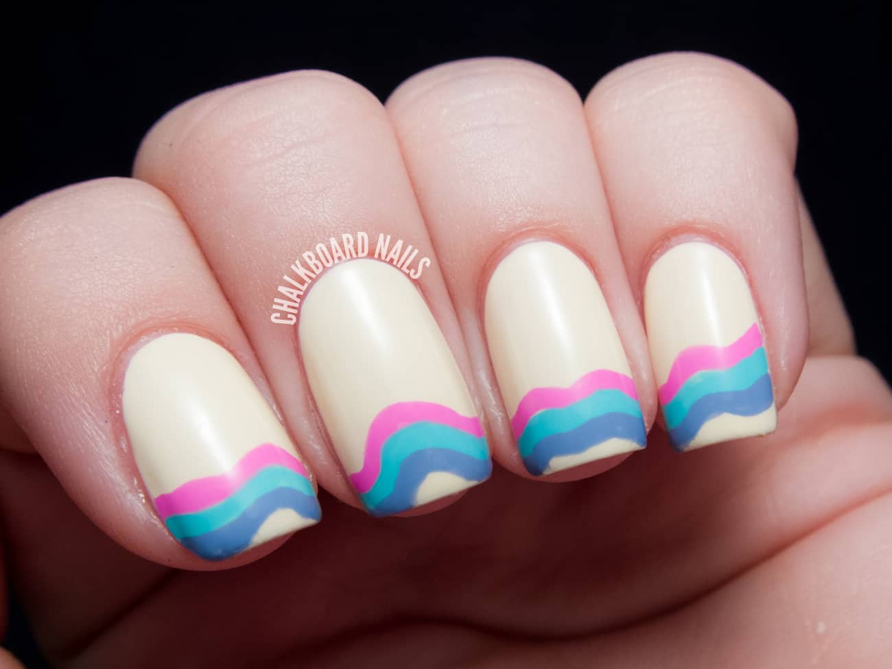 Asymmetric Nail Tips