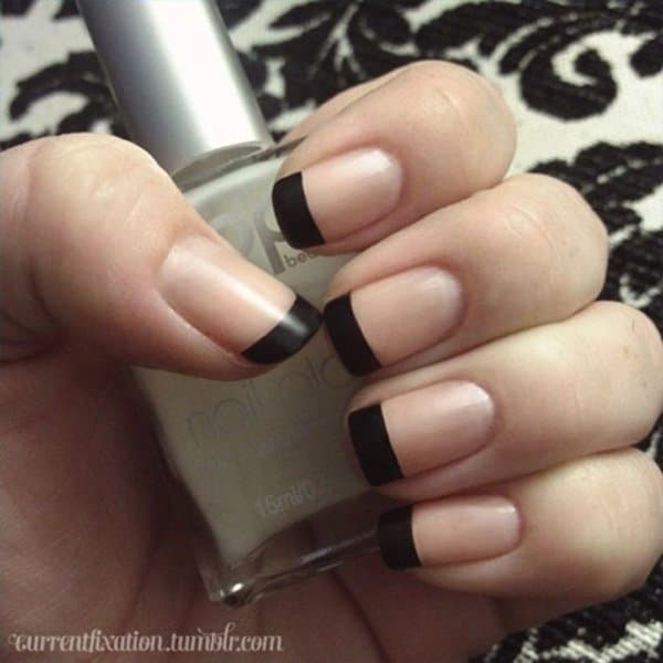 The Black Nail Tips