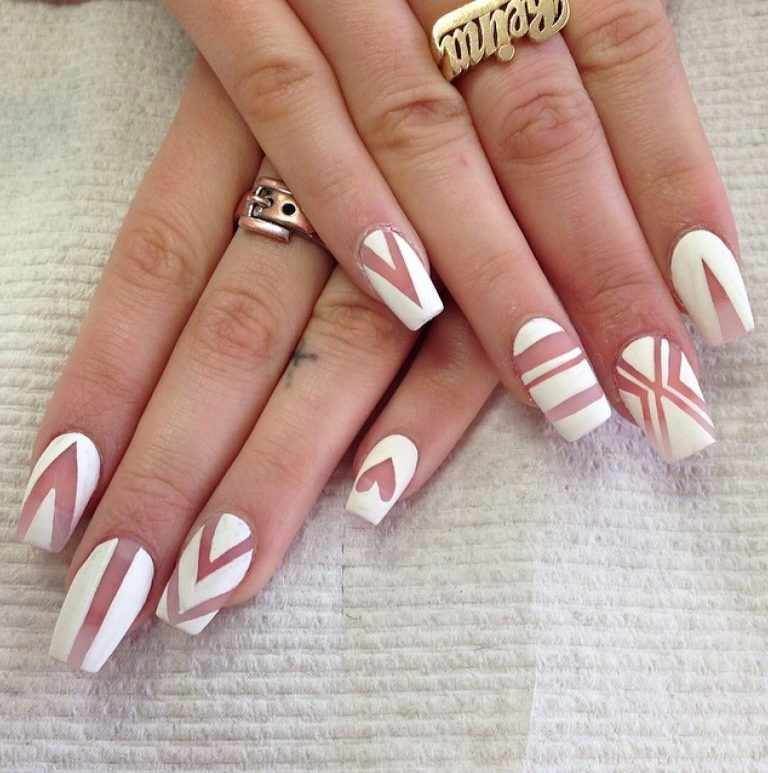 30 Short Coffin Nail Ideas to Inspire Your Next Mani