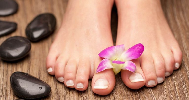 Treat Your Feet with A Cozy Hot Stone Pedicure