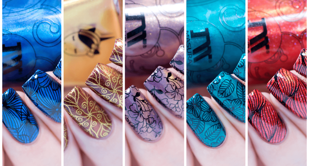 Magnetic Nail Polish Designs