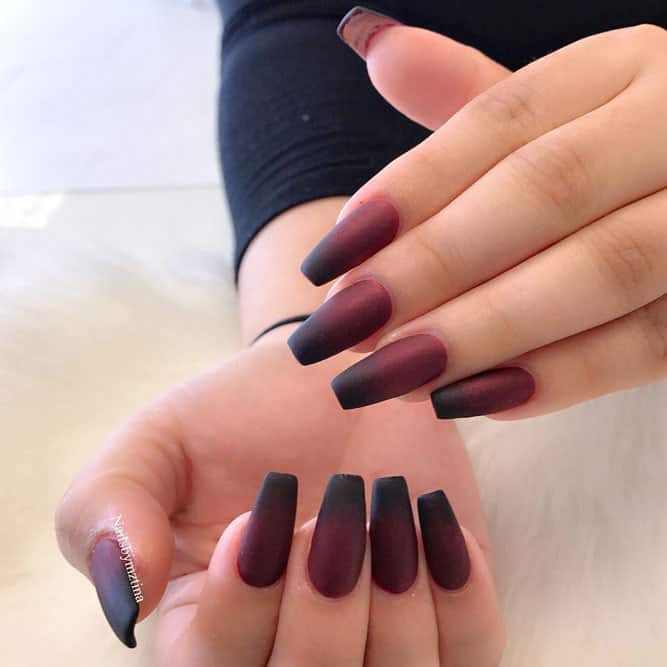 22 Matte Coffin Nails Ideas Get Ready To Steal The Show