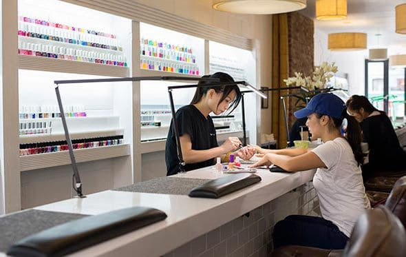 ways to save money in nail salon