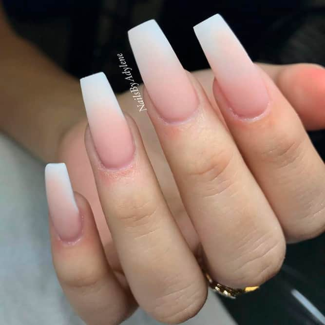 Ombre Nude Nails - Best Nail Design 2018