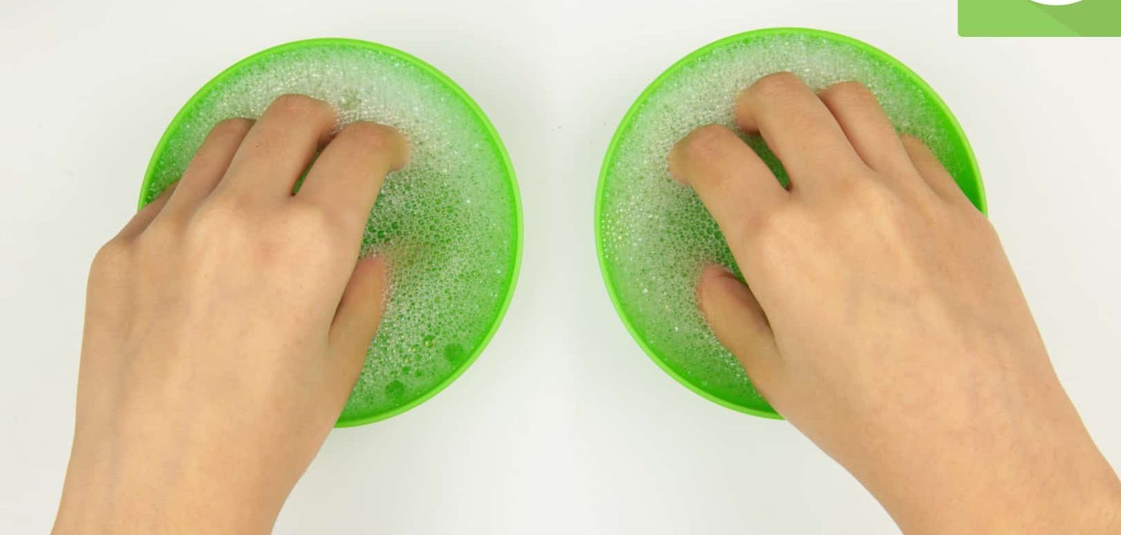Soak with Hot Water to remove powder nail polish