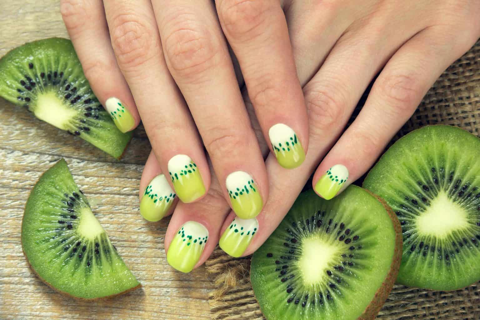 fruits nail art