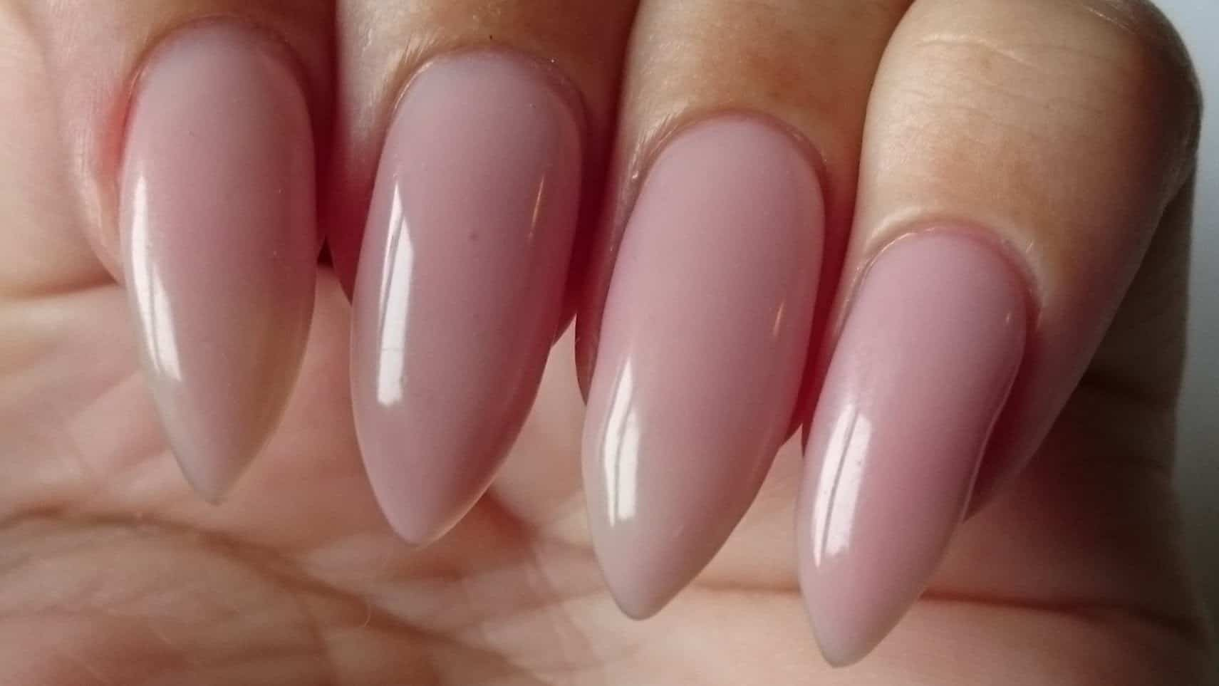 Hard Gel Overlay Nails