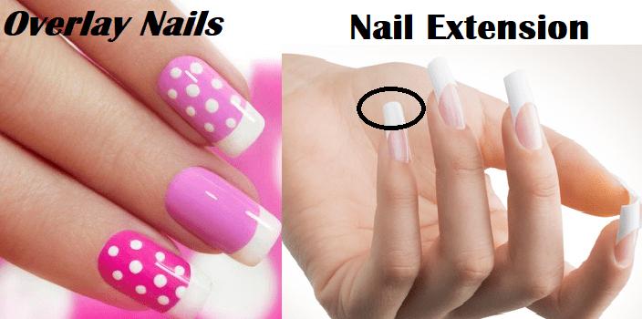 overlay nails vs nail extensions