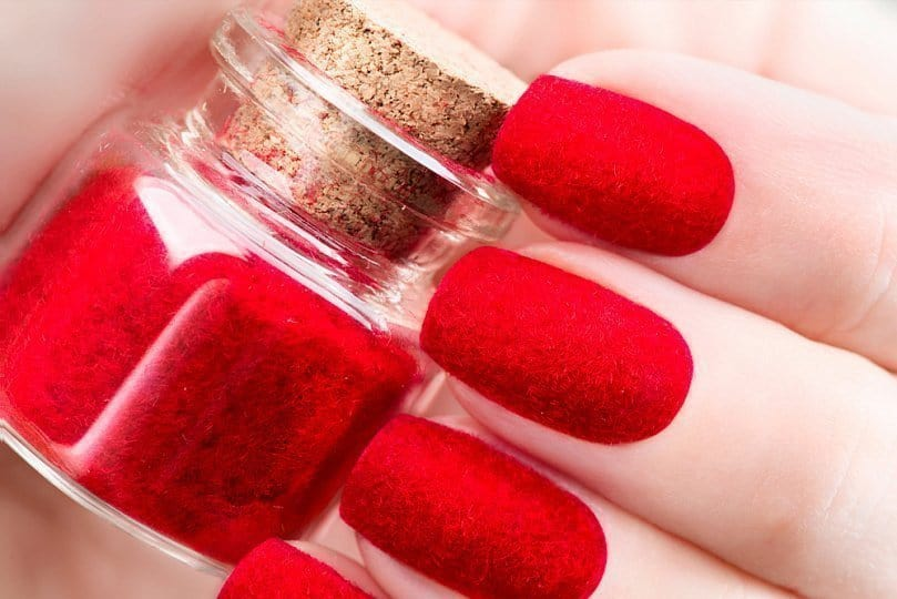 powder nail polish