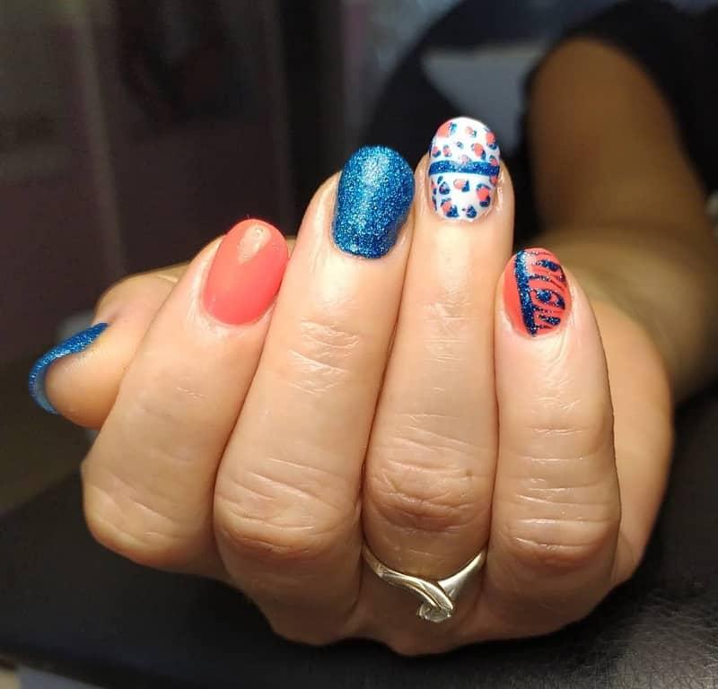 round nail designs