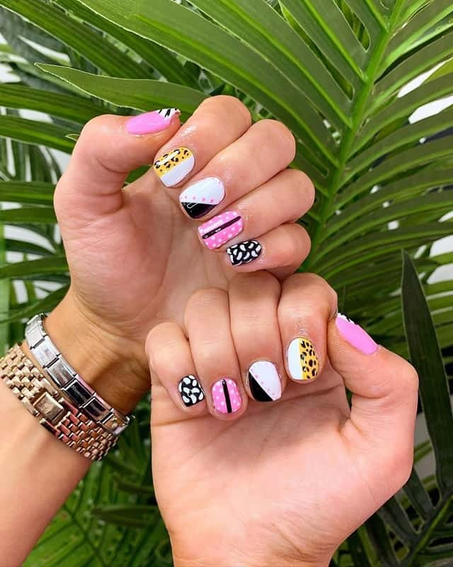 wild and funky nails designs