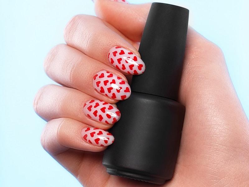 round nails designs