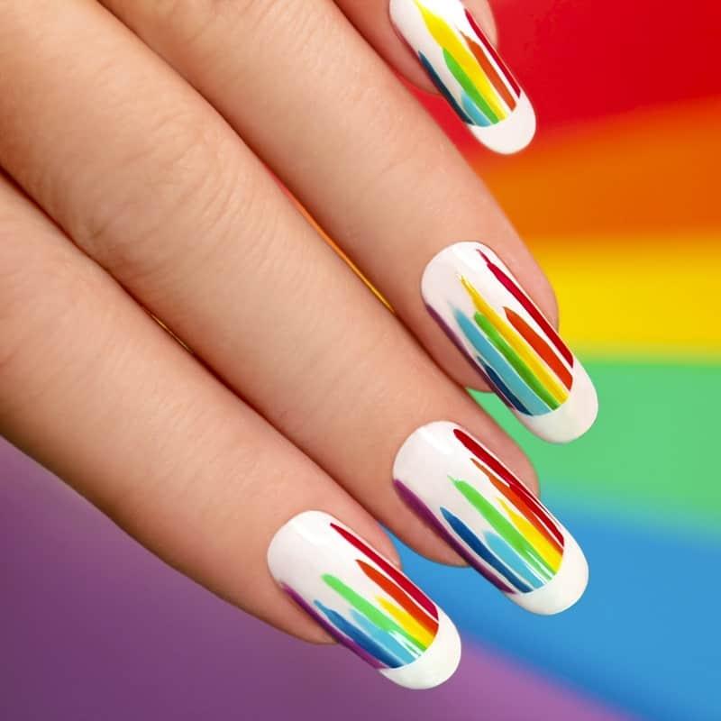 round summer nail designs