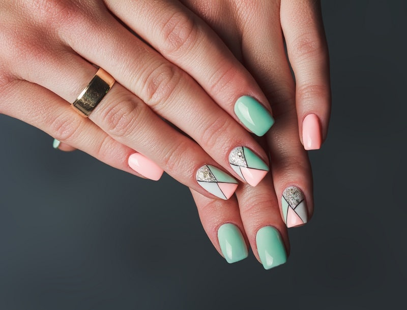 winter gel nail designs