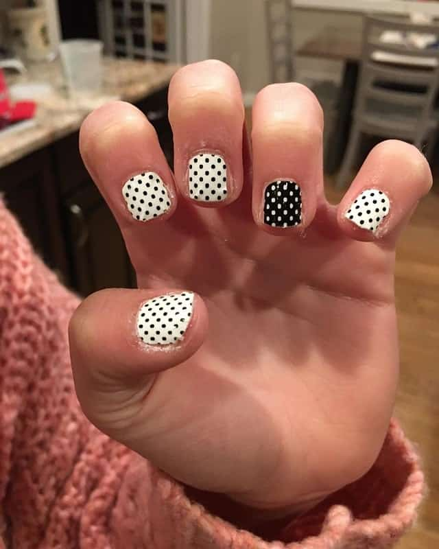 acrylic nail design for kids